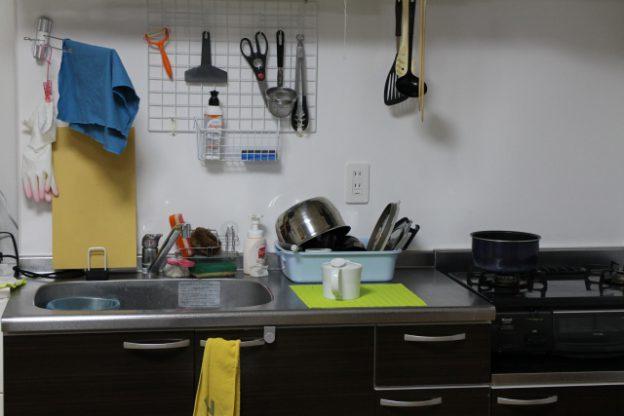 キッチンの壁