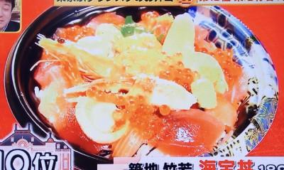 築地竹若「海宝丼」