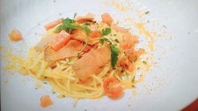 ダ ニーノ「マグロのからすみスパゲッティ」