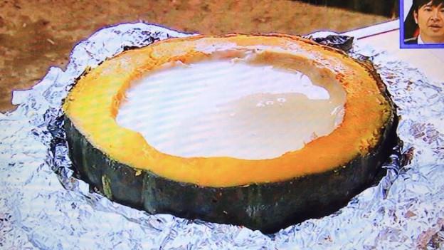かぼちゃ丸ごとチーズフォンデュ
