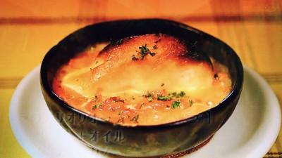 スペイン食堂石井「タラのアリオリソース焼き(ハーフ)」