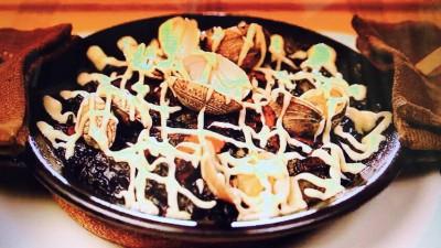 スペイン食堂石井「イカ墨のパエリア」