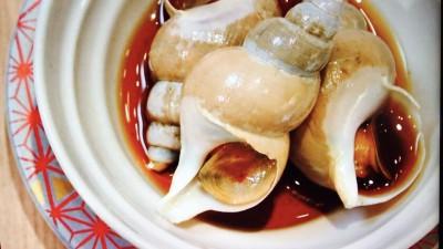 バイ貝の煮つけ