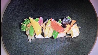 劉安「野菜炒め(5色20種の健康野菜料理)」