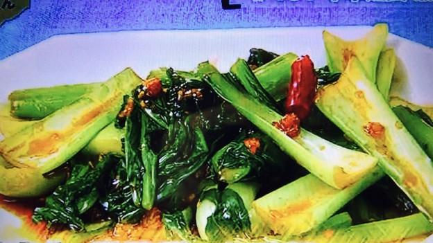 チンゲン菜の炒め物【男子ごはん】