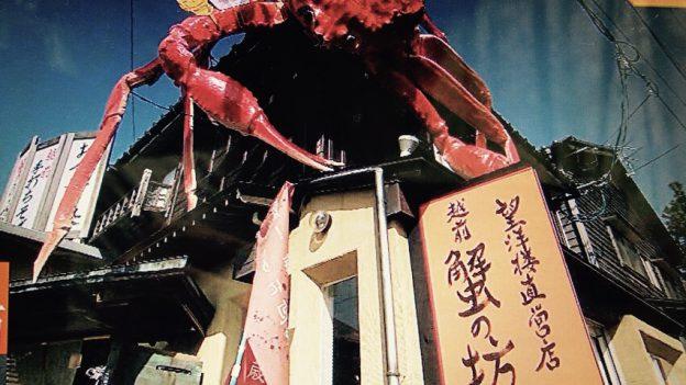 福井の越前蟹の坊