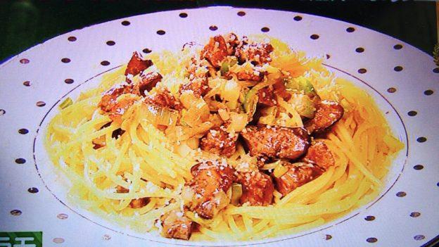 ジローラモの鶏レバーミートソーススパゲッティ
