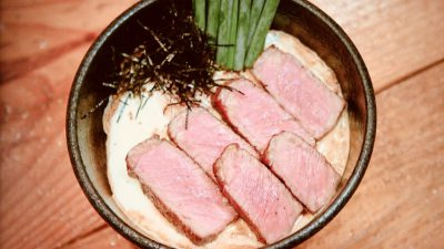 ビストロ・キンタ「ステーキ丼」