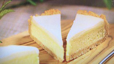麦の薫り「二層のチーズケーキ」