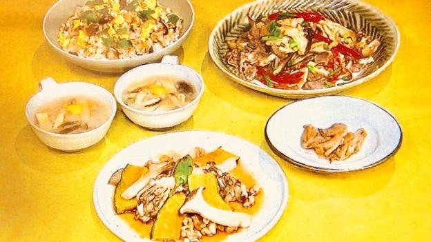 平野レミのキノコレシピ!20分で5品【きょうの料理】