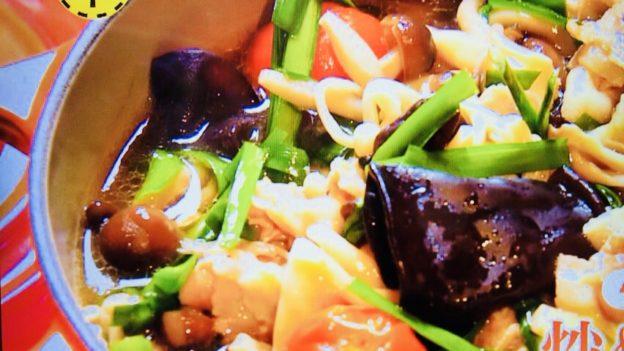 柳澤英子の炒めキノコ鍋