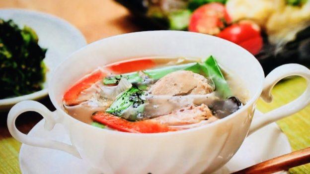サバ缶チャイニーズスープ