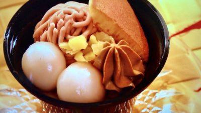 セブンイレブン「栗とほうじ茶の和ぱふぇ」