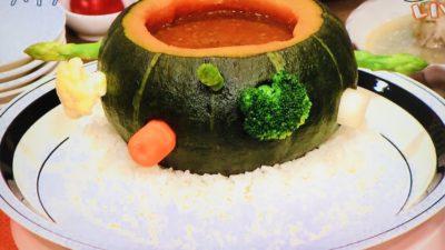 平野レミの華麗の滝inかぼちゃ