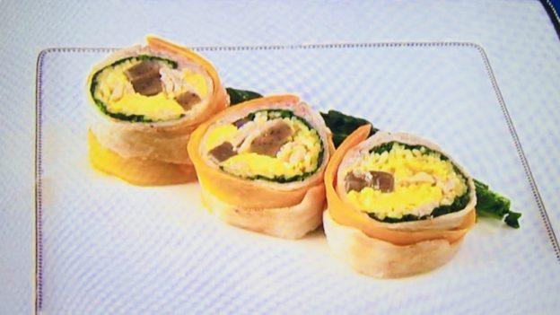 人気ラーメン店主松村の豚バラとパスタのロール仕立て