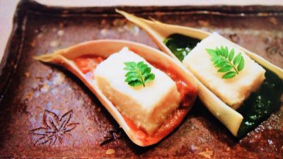 京味「筍豆腐」