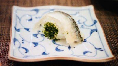 大将寿司「こはだの創作寿司」