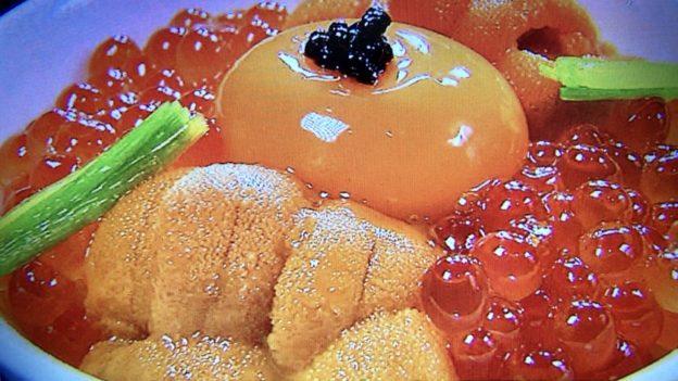 十番右京「海鮮丼(海のたまごかけご飯)」