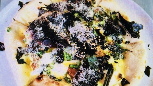 カトリカ「納豆のピザ」