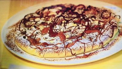 カトリカ「チョコレートのピザ」