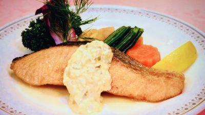 えびすや「生鮭のバター焼き」