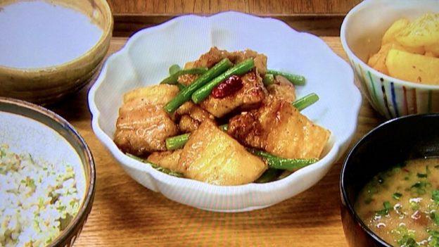 豚バラ肉とニンニクの芽のスタミナ炒め