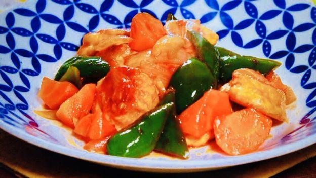 ゆうこりんの酢鶏
