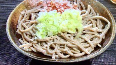 そば蔵 谷川「おろしそば(手びき麺)」