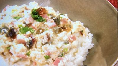 蒼井優のピータン豆腐のぶっかけ飯