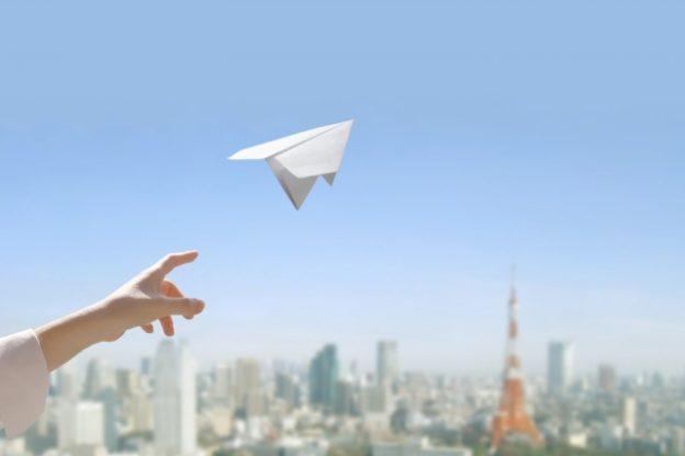 永遠に飛ぶ紙飛行&おへそ紙飛行機の作り方【所さんの目がテン】