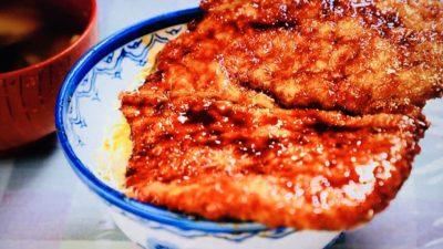 白孔雀食堂「ソースかつ丼」