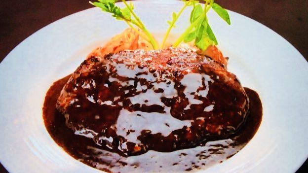 レストラン大宮「ハンバーグステーキ デミグラスソース」