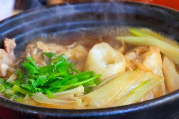 お多福「きりたんぽ鍋」