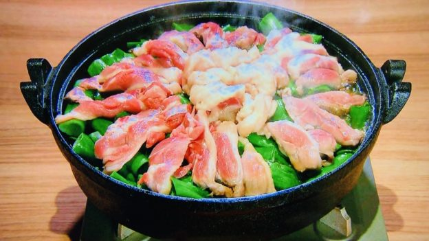 八起庵「京鴨と九条ねぎのすき焼き」