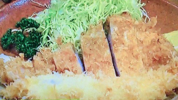 とんかつひのき「特ロースかつ定食+海老フライ」