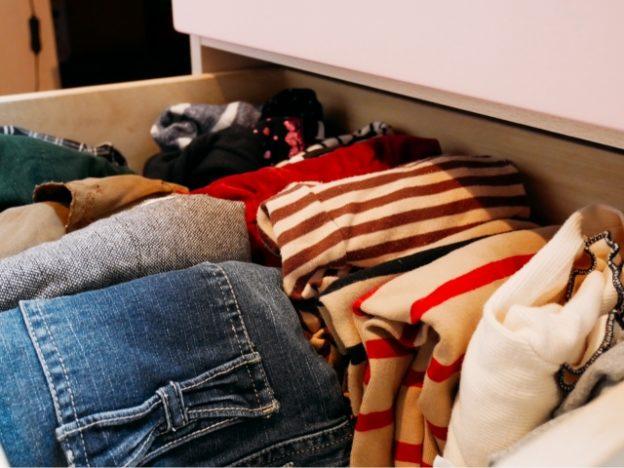 こんまりメソッドの仕分け&片付けや衣類たたみ方