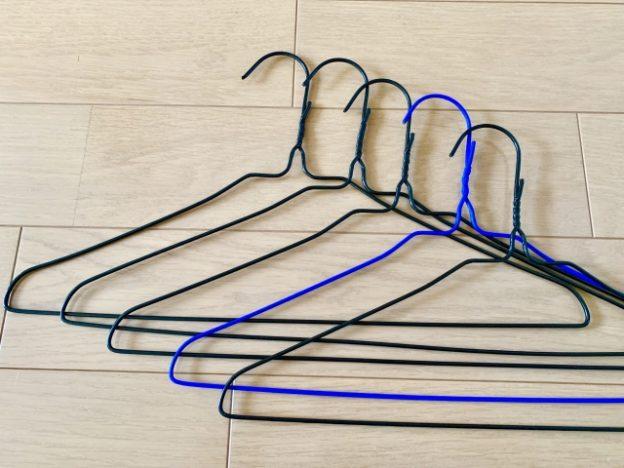 針金タイプのハンガー