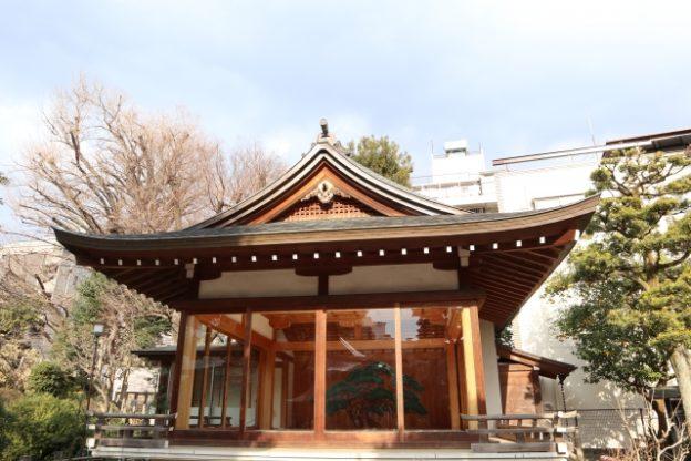千駄ヶ谷の鳩森八幡神社