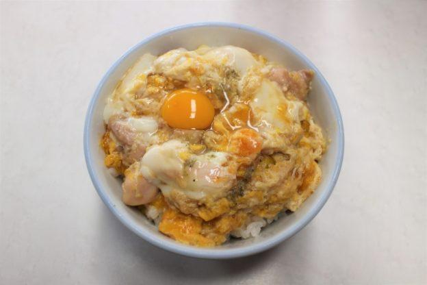 文鳥の京風親子丼