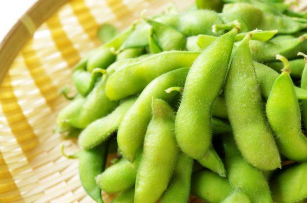 レンジで枝豆の調理方法